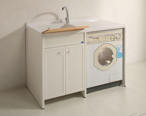 mobile bagno coprilavatrice : ... Bagno Con Lavatrice E Lavatoio: Lavatoi per arredo lavanderia Jo Bagno