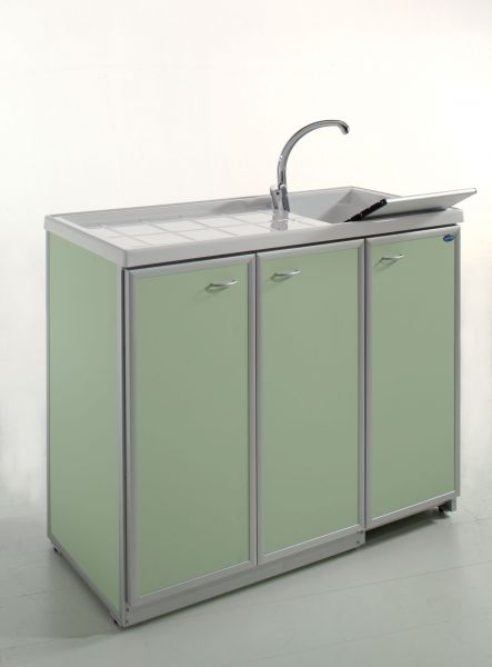 Coprilavatrice con ante di copertura vasca dx o sx aquilini for Coprilavatrice alluminio