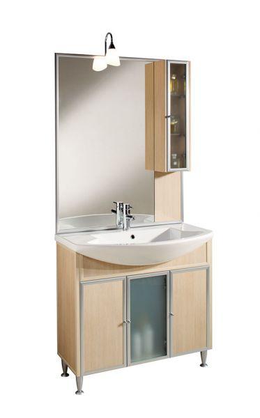 Le nostre collezioni aquilini - Pensile bagno con specchio ...